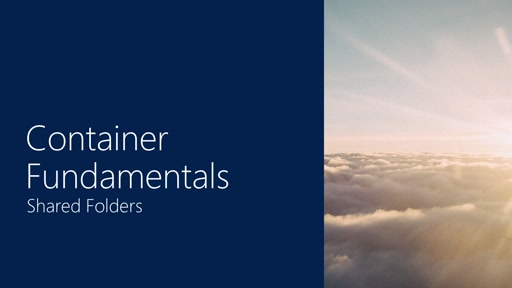 Container Fundamentals | Part 3 - Shared Folders