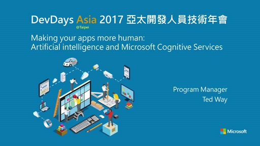 Making your apps more human: Artificial intelligence and Microsoft Cognitive Services