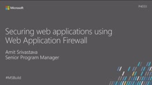 Securing web applications using Web Application Firewall