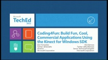 Coding4Fun: Build Fun, Cool, Commercial Applications Using the Kinect for Windows SDK