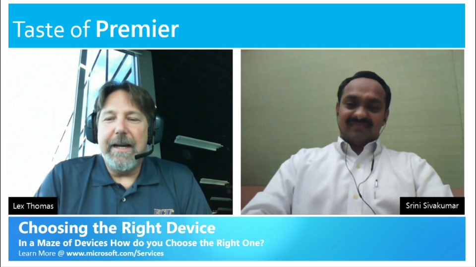 Taste of Premier: In a maze of devices, how do you choose the right one?