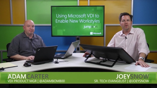 Using Microsoft VDI to Enable New Workstyles: (05) Capacity Planning and Architecture