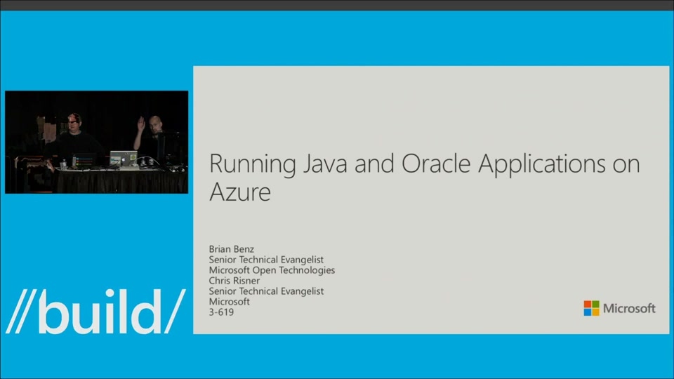 Running Java and Oracle Applications on Azure