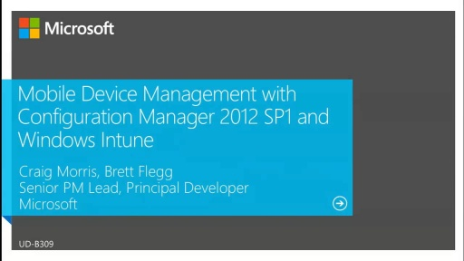 Deploying and Configuring Mobile Device Management Infrastructure