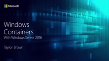 Containers in Windows Server 2016