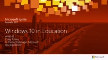 Windows 10 in Education: Innovations for Teachers and Schools