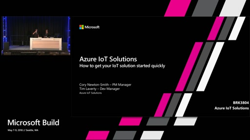 Azure IoT Solutions - Get your IoT project started in minutes with SaaS and preconfigured solutions