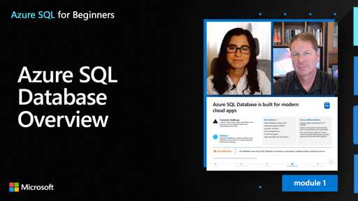 Azure SQL Database Overview (7 of 61)