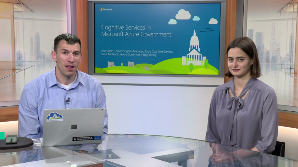 Cognitive Services on Azure Government - Intelligent Mission