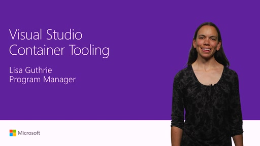 Visual Studio container tooling