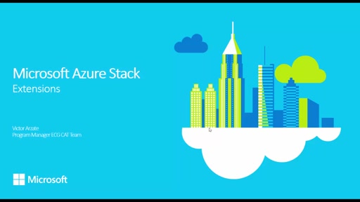 Microsoft Azure Stack TP1 | Foundational Skills #2 - Deploying VM Extensions