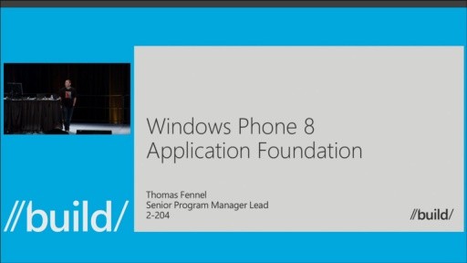 Windows Phone: App Foundation