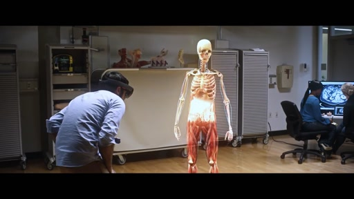 HoloLens Teach Anatomy