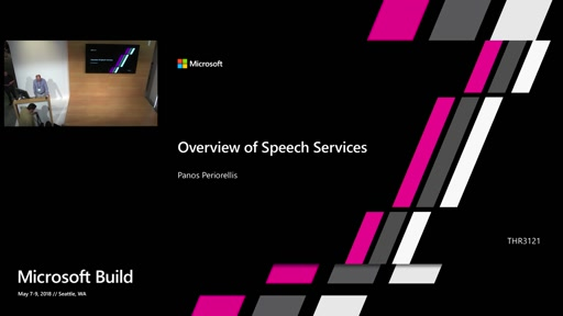 Speech services overview