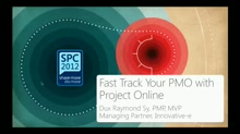 Fast Track Your Project Management Office (PMO) with Project Online