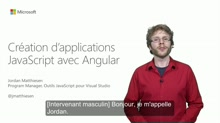 Création d'applications JavaScript avec Angular