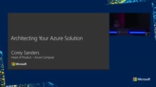 Architecting your Azure Solution