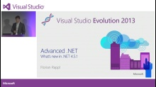 Advanced .NET - What´s new in .NET 4.5.1