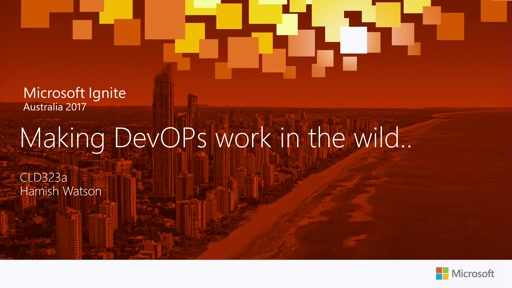 ​Making DevOps work in the wild..