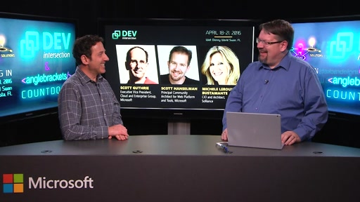 DevIntersection Spring 2016 CountDown Show #6 with Robert Green