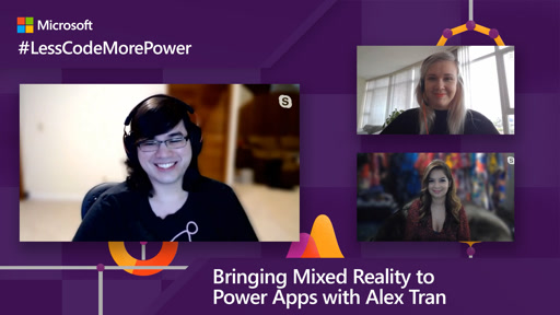 Bringing Mixed Reality to Power Apps with Alex Tran