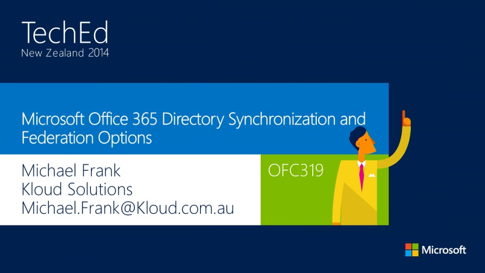 Microsoft Office 365 Directory Synchronization and Federation Options