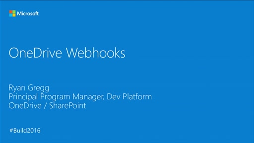 Introducing Webhooks for OneDrive and OneDrive for Business