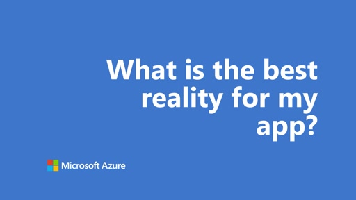 What is the best reality for my app? | One Dev Question