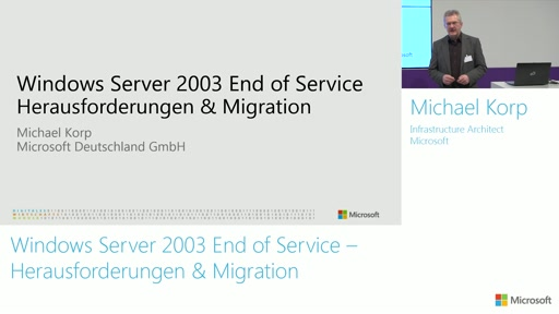 Windows Server 2003 End of Service – Herausforderungen & Migration