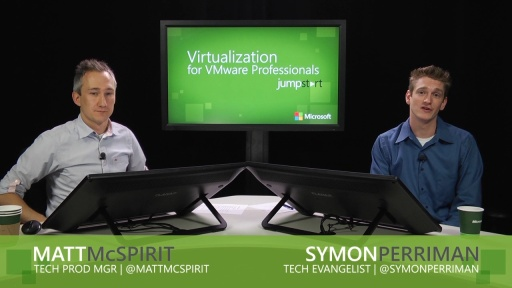 Virtualization for VMware Professionals Jump Start: (02) Storage and Resource Management