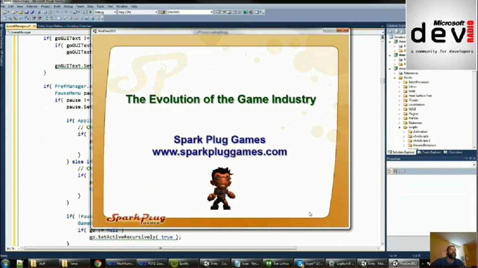 Microsoft DevRadio: (Part 2) The Evolution of the Gaming Industry - An Interview with John Niells - Founder Spark Plug Games