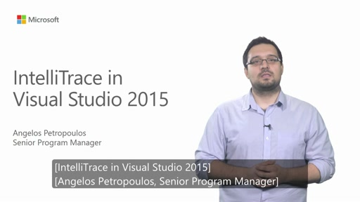 Uso di IntelliTrace in Visual Studio 2015