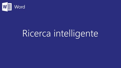 Word || Ricerca Intelligente