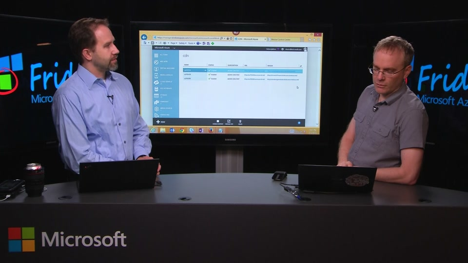 Microsoft Azure CDN Updates for July 2015 with Anton Kucer