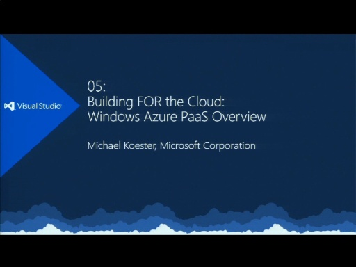 Katapult.12 - Cloud 9 - Scenario 5: Building Cloud Applications with Windows Azure