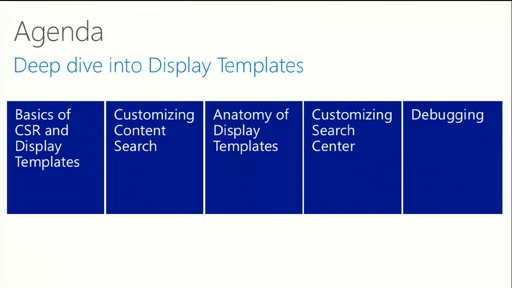 Changing the look of Search using Display Templates and CSR