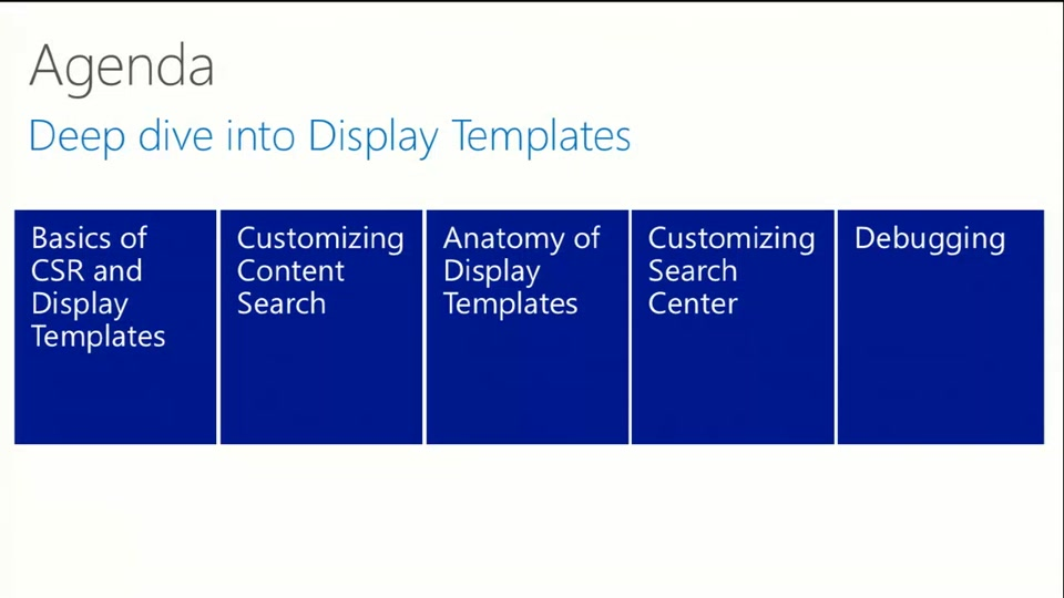 Changing the look of search using display templates and csr changing the look of search using display templates and csr sharepoint conference 2014 channel 9 maxwellsz