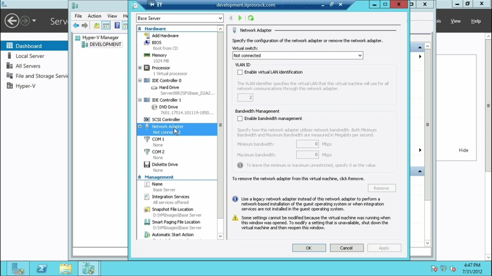 DEMO: Hyper-V Scalability