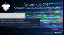 Dynamics AX 2012 Application Lifecycle Management