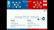 Exchange 2013 SP1 - Protocolos