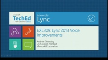 Microsoft Lync 2013 Voice Improvements