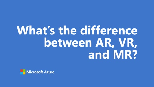 What's the difference between AR, VR, and MR? | One Dev Question