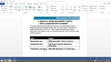 (Part 2) Creating Accessibility Documents:  Document Naming