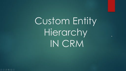 Custom Entity Hierarchy  In CRM