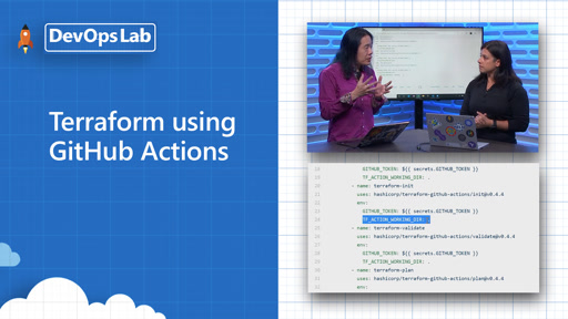 Azure DevOps Lab- Terraform using GitHub Actions