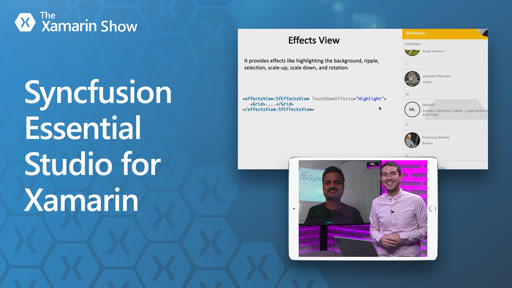 Syncfusion Essential Studio and UI Kit for Xamarin & Xamarin.Forms
