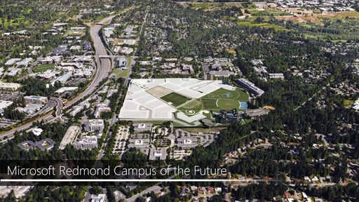 Microsoft Redmond campus modernization project