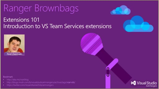 Extensions 101 - Intro to VS Team Services Extensions