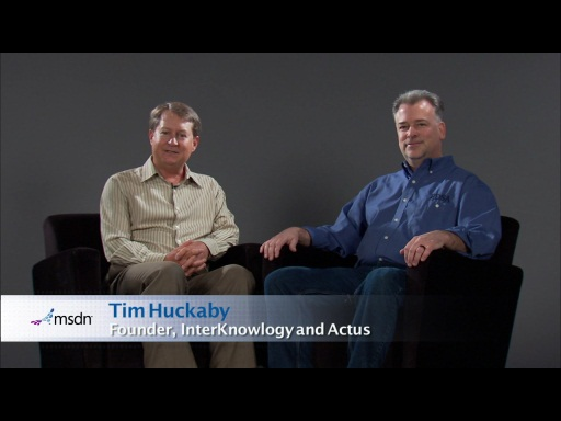 Bytes by MSDN: Paul Sheriff and Tim Huckaby discuss the Latest Training Tools available for Developers