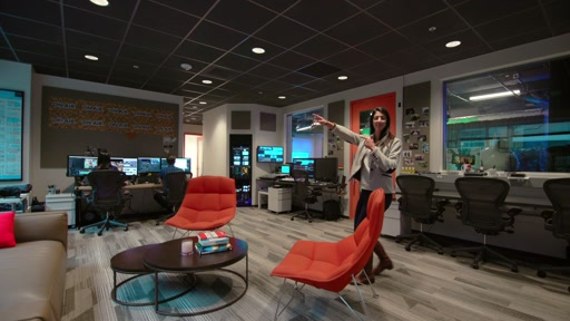 Microsoft Campus Tours - Inside the NEW Channel 9 Studio